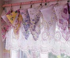 Handkerchief valance