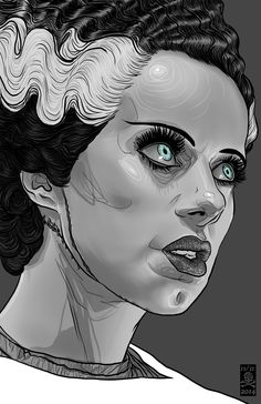 Inspired by the classic Universal Horror movie, Bride of Frankenstein