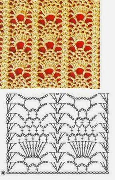 Watch This Video Beauteous Finished Make Crochet Look Like Knitting (the Waistcoat Stitch) Ideas. Amazing Make Crochet Look Like Knitting (the Waistcoat Stitch) Ideas. Filet Crochet, Crochet Motifs, Crochet Diagram, Crochet Stitches Patterns, Crochet Chart, Crochet Designs, Crochet Doilies, Stitch Patterns, Knit Crochet