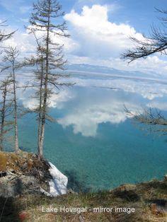 Lake Khovsgal in Mongolia,
