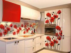25 Modern Ideas for Small Kitchen Design, Latest Trends in Decorating Kitchen Room Design, Best Kitchen Designs, Modern Kitchen Design, Home Decor Kitchen, Modern Kitchen Interiors, Modern Kitchen Cabinets, New Interior Design, Interior Decorating, Interior Walls