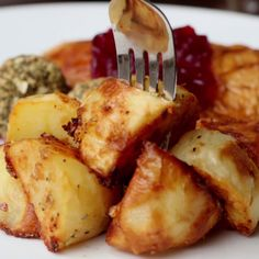 Parmesan, Garlic, And Rosemary Roast Potatoes