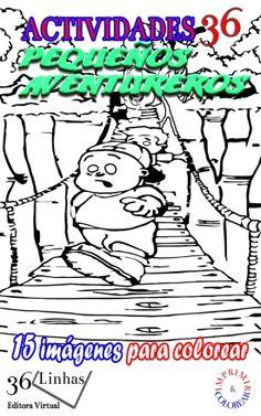 Este eBook presenta el primer libro de los Pequeños Aventureros en la impresión y la pintura, basado en el libro para niños Pequeños Aventureros - El escape de los gusanos gigantes.