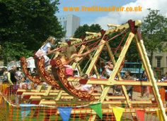 Vintage Fairground Swingboats and Games Hire.