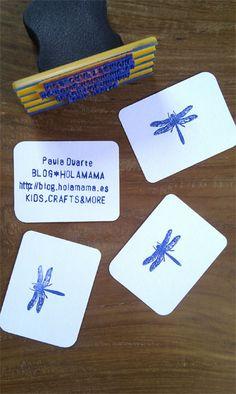 tarjetas de presentación de estampa