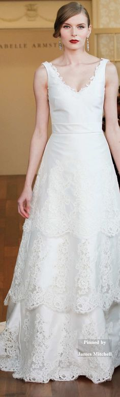 Isabelle Armstrong Collection Fall 2015 Bridal