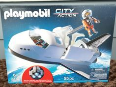 Playmobil Space Shuttle and Mission Control Play Sets #Sponsored