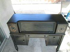 Repurposed Antique desk