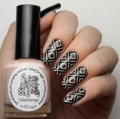 Kaleidoscope by El Corazon - Stamping Polish - St-81 Bisque