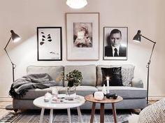 33 Scandinavian Living Room Designs Ideas To Autumn Inspire Scandinavian Style Home, Scandinavian Interior Design, Scandinavian Living, Nordic Design, Scandinavian Apartment, Monochrome Interior, Scandi Style, Modern Interior, My Living Room