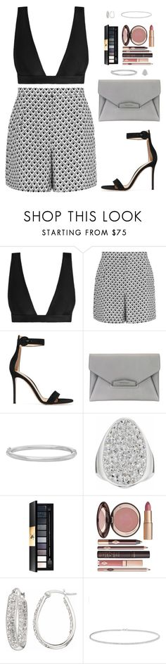 """Sin título #4573"" by mdmsb on Polyvore featuring moda, Zimmermann, Reiss, Gianvito Rossi, Givenchy, Yves Saint Laurent, Charlotte Tilbury y Anne Sisteron"