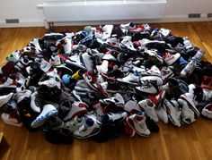 Air Jordan - one ridiculous collection!