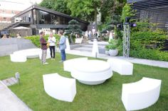 In partnership with Best Events Catering, SLIDE furnished the SUMMER FOOD PARTY in Kiev, Ukraine.