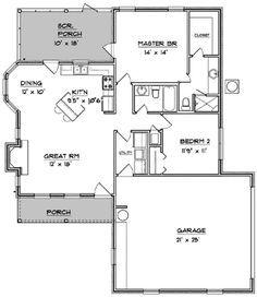 Tidy Southern Escape - 3478VL | 1st Floor Master Suite, Corner Lot, PDF, Southern | Architectural Designs