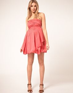 $26 Enlarge ASOS Maternity Bandeau Dress With Bubble Hem
