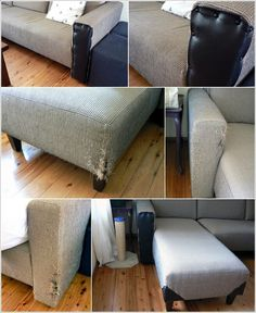 Ways To Fix A Torn Couch On A Quot Tailored Quot Style Piece Like