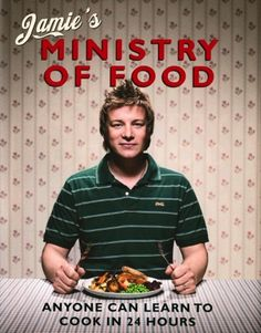 """Jamie Oliver. This guy is great, I love his cookbooks.  I also DVR his show """"Jamie's 30-Minute Meals"""" on the BBC."""