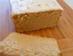 Vegan Lemon Cake (self raising flour, sugar, baking powder, zest & juice of a lemon, vegetable oil, and confectioners sugar).