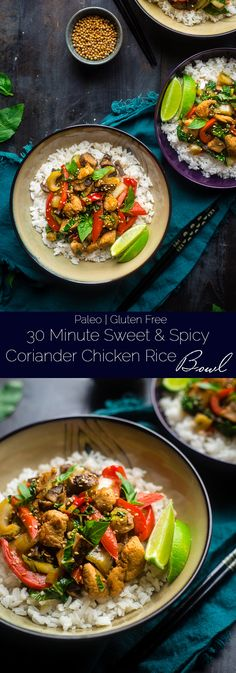 Paleo Coriander Chicken Stir Fry - This healthy chicken stir fry has fresh…