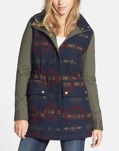 Adding this super cute parka to the wishlist right now.