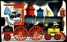 Marc Boutavant, All Aboard train puzzle