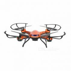 H12W-A 4-CH R/C Quadcopter w/ 2.0MP Camera, 6-aixs Gyro - Orange