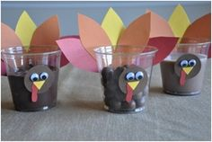 Turkey Candy Cups.
