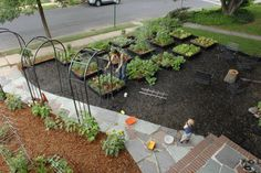 garden design with garden edible front yard on pinterest front yard gardens front with - Front Yard Vegetable Garden Ideas