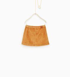ZARA - KIDS - Moleskin skirt