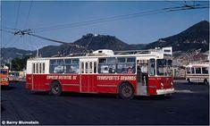 Trolley Bus ruso modelo ZiU-9 que funcionaba en Bogotá
