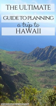 The ULTIMATE Guide to Planning a Trip to Hawaii The Ultimate Guide to Hawaii Travel. Guide to planning a trip to Hawaii. The best Hawaii guide. How to go to Hawaii. Hawaii Surf, Mahalo Hawaii, Hawaii 2017, Hawaii Life, Honeymoon Vacations, Hawaii Honeymoon, Hawaii Vacation, Hawaii Trips, Vacation Ideas
