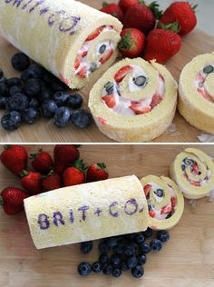 Learn how to make and decorate a cake roll! Click through for the recipe and tutorial.