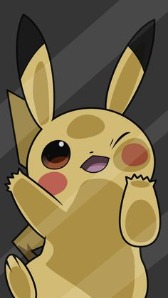 grafika pikachu, pokemon, and wallpaper Pikachu Pikachu, O Pokemon, Pokemon Cards, Pokemon Fusion, Screen Wallpaper, Cool Wallpaper, Mobile Wallpaper, Wallpaper Backgrounds, Blog Backgrounds