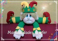 Felt Christmas, Christmas Ornaments, Gnome, Holiday Decor, Crafts, North Pole, Home Decor, Bobby, Diana