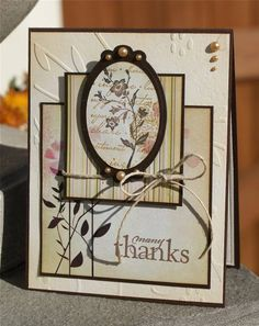 SC358 many thanks by Arizona Maine - Cards and Paper Crafts at Splitcoaststampers