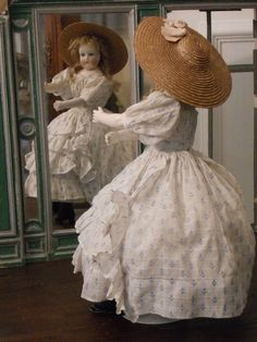 ~~~ Pretty Childlike Mlle. Leontine Rohmer Parisienne Doll ~~~ from whendreamscometrue on Ruby Lane