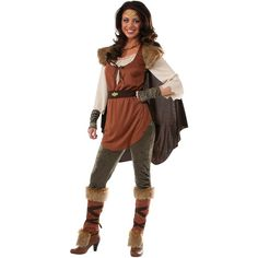 Women's Forest Princess Costume ($39) ❤ liked on Polyvore featuring costumes…