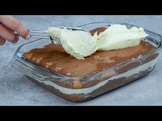 Tento fantastický recept na dort je hotový za 15 minut! - YouTube Pastel, No Bake Cake, Tiramisu, The Creator, Baking, Emoji, Ethnic Recipes, Crochet, Food