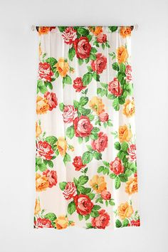 Mexican Rose Curtain ~ Urban Outfitters Europe