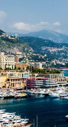 Cityscape and harbor of Monte Carlo, France | 17 Reasons why Magnifique France is the most Visited Country in the World