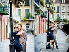 New Orleans Engagement photos . Louisiana engagement photos . French Quarter