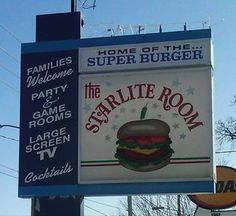 Starlite burgers in Cedar Rapids. Yeah, it's kind of a dive, but isn't the best food always from dives? Vacation Places, Vacations, Cedar Rapids Iowa, Midwest City, Big Town, Iowa Hawkeyes, Small Towns, Shout Out, Burgers