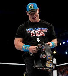 Raw 4/13/15: John Cena vs Bad News Barrett - United States Championship Match