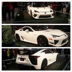Gorgeous Lexus LFA! DREAM CAR xoxox I'd look hot in that!