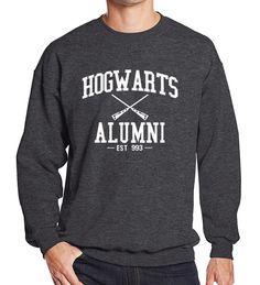 Sweatshirt men 2017 spring winter Hogwarts Alumni print O-neck hoodies brand-clothing men's sportswear harajuku k-pop tracksuits
