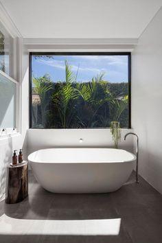 (40) Pinterest Interior Design Examples, Interior Design Inspiration, Modern Windows, Large Windows, Modern Room, Modern Bathroom, Bathroom Ideas, Bathroom Cost, Bathroom Tubs