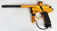 USED Dangerous Power Fusion F7 Paintball Gun Marker - DP - Yellow/Black