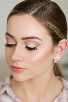 30 Ideas For Natural Bridal Makeup See more: www.weddingforwar... #wedding