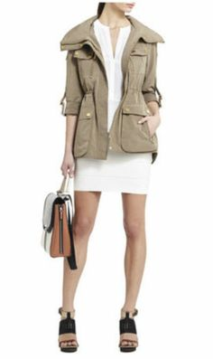 The Spring Jacket Khaki Jacket, Cargo Jacket, Types Of Jackets, Spring Jackets, Passion For Fashion, Military Jacket, Fashion Beauty, Cute Outfits, Style Inspiration
