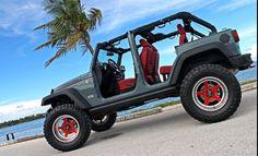 Omg so sexy!!!!!! 2013 10th Anniversary Rubicon Jeep JKU Anvil Red